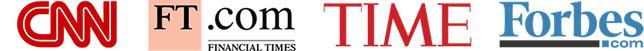 logotipos da mídia